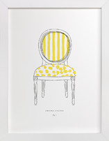 Awning Stripes Limited Edition Art Print
