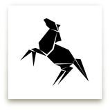 Origami Horse by Debb W
