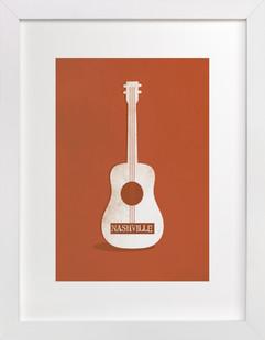 Ole Nashville Art Print