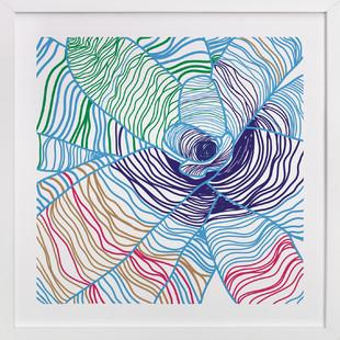 Variegated Plant Art Print