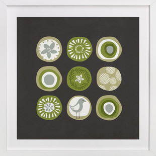 Sea Circles Art Print