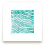 Abstract Triangles Art Prints