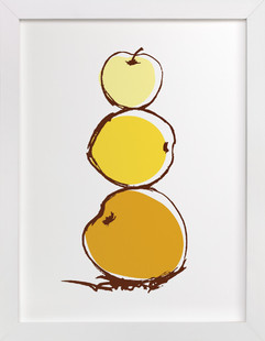 Stack of Apples Art Print