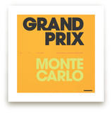 Grand Prix du Monaco by Christopher Morben