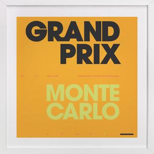 Grand Prix du Monaco Art Print