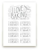 I Love Baking And Math by Dana Beckwith