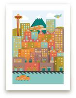 Vintage Seattle by Devon J. Carlson