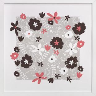 Button Blossom Art Print