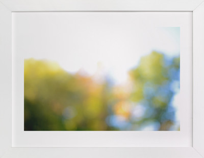 autumn obscured Art Print