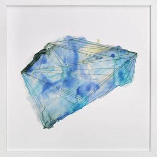 sapphire Art Print