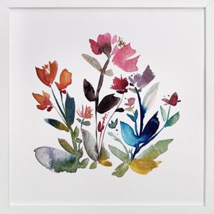 island wildflowers no.3 Art Print