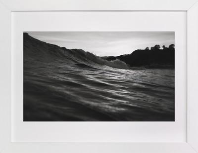 Wave Noir Art Print