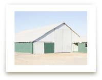 Green Barn Art Prints