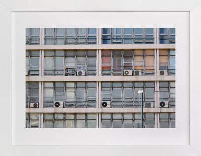 Urban Palette - Smoky Eyes Art Print