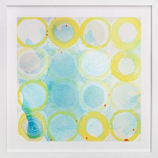 Paint Rings 02 Art Print