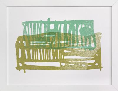 Meadowlark Series (three) Art Print