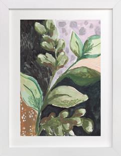 Foliage Patterns no. 1 Art Print