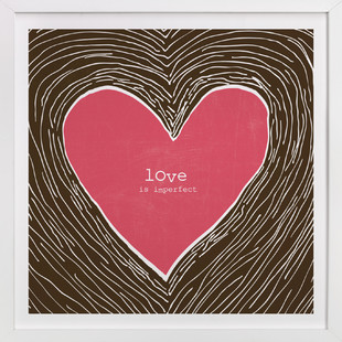 Love Is Imperfect Art Print