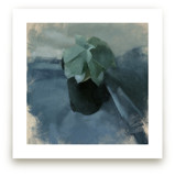 Succulent in Blue by Elisabeth Larson