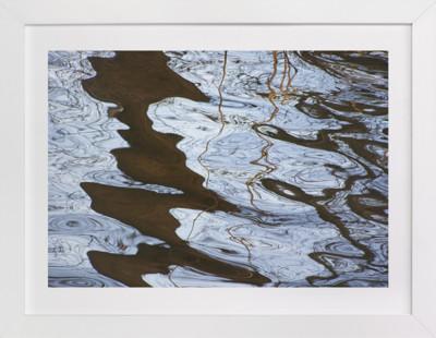 Crinkling in the water 1 Art Print