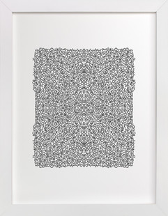 Chaotic Pattern Art Print