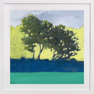 Morning Grove Art Print
