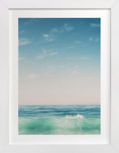 Malibu Surf and Sky II Art Print