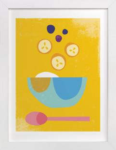 Breakfast Bowl Art Print