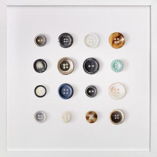 Polka Buttons Art Print
