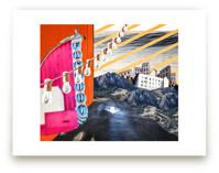 San Luis Collage by Kate Baird
