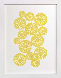 Sliced Citrus Art Print