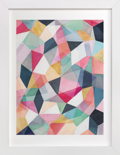 Kaleidoscope No.1 Art Print