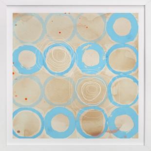 Paint Rings 01 Art Print