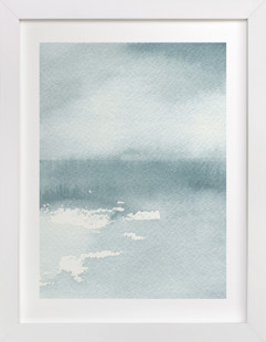 Ice on the Lake Art Print