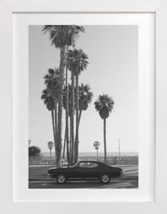 Ocean Avenue Art Print