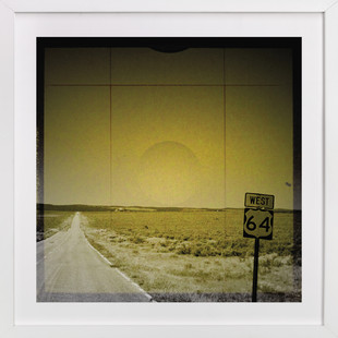 The Road We Travel One Art Print
