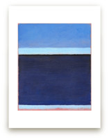 Deep Blue Bay by Carol C. Young