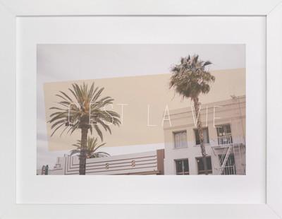 C'est La Vie in Cali Art Print