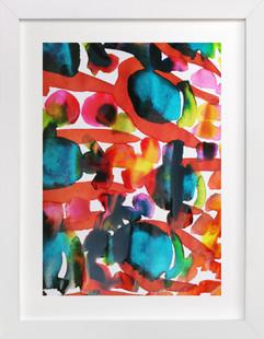 Colour-Burst9 Art Print