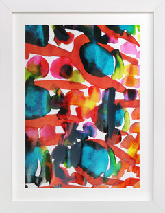 Colour-Burst9 Art Print