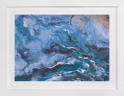 Raging Sea Art Print