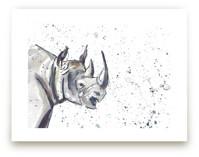 Rhino by Holly Royval