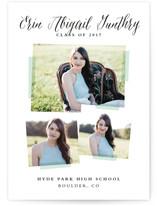 Photo Overlay Graduation Announcement Postcards