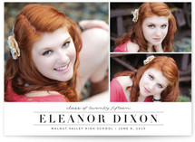 Northernly Graduation Announcement Postcards