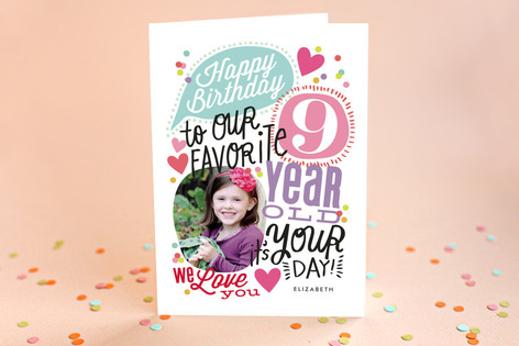 Celebrate Our Favorite Kid's Birthday Greeting Cards