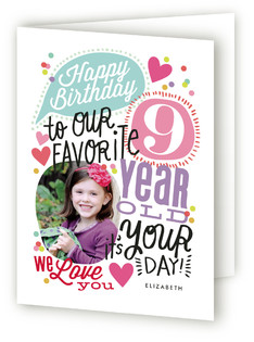 Celebrate Our Favorite Kids Birthday Greeting Cards