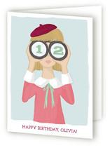Little Spy Kid's Birthday Greeting Cards