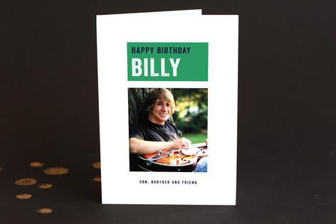 Happy Pin Dot Kid's Birthday Greeting Cards
