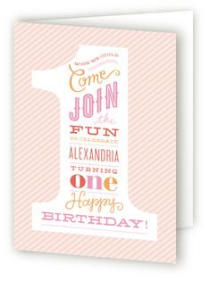 The Big One Kids Birthday Greeting Cards