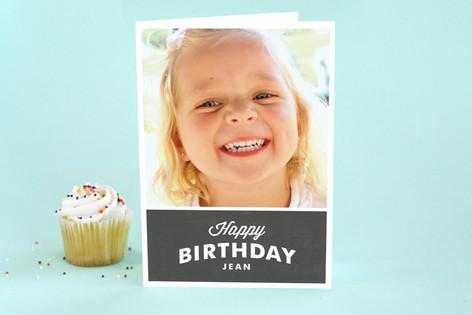 Nostalgic Note Kid's Birthday Greeting Cards